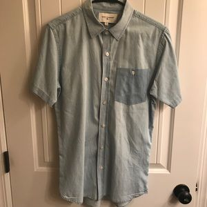 👕Modern Amusement Short Sleeve Button Down